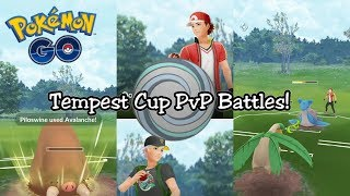 Tempest Cup PvP Battles In Pokemon GO