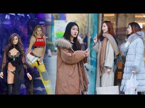 """""""你是模特嗎?""""中國街頭故意稱呼路人""""模特"""",大家的反應很溫暖!(社會實驗)"""