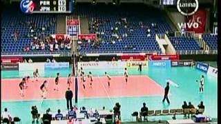 Mundial Juvenil de Voley 2013 - Peru vs Japon (2do. Set)
