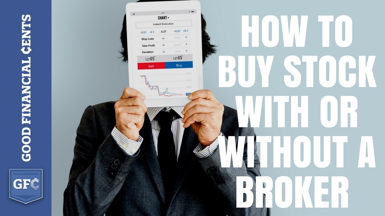 Who is a stock broker?