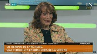 Magdalena Ruiz Guiñazú repudia los dichos de Dady Brieva sobre el periodismo