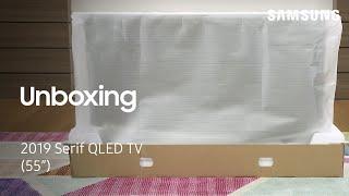 02. Unbox Your 2019 Serif TV | Samsung US
