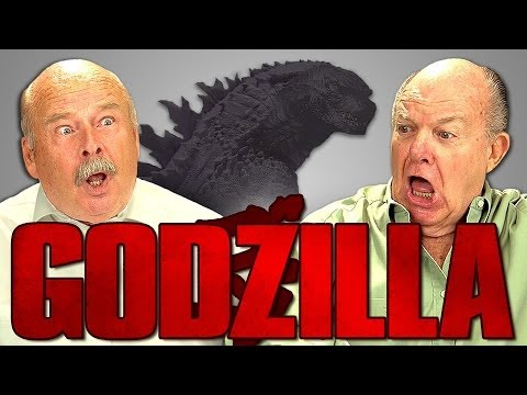 Elders React To Godzilla video