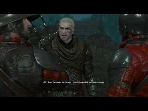 Overconfident Geralt (The Witcher 3: Wild Hunt)