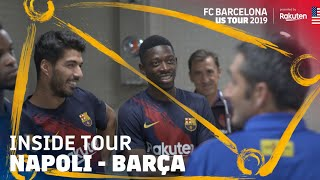INSIDE BARÇA'S LAST DAY IN THE US | Inside Tour US 2019 #6