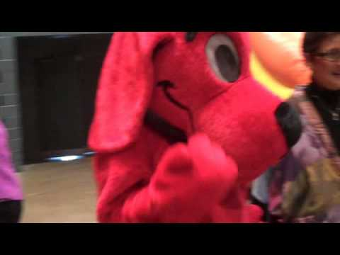 Basin PBS Presents: Clifford the Big Red Dog Visits Children at Fundraiser Benefiting Bynum School