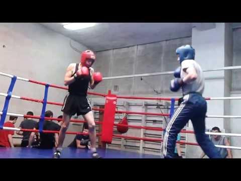 Боксазы-бой с тенью партнера