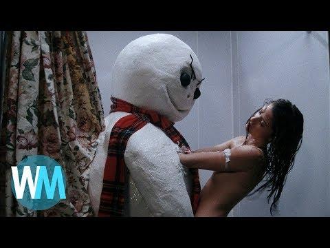 Топ 10 Тупейших Вещей Которыми Нас Пугали в Фильмах Ужасов