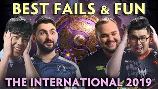 Best FAIL and FUN moments of The International 2019 — Group Stage