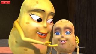 The Potato Song   Bengali Nursery Rhymes   Infobel   480P