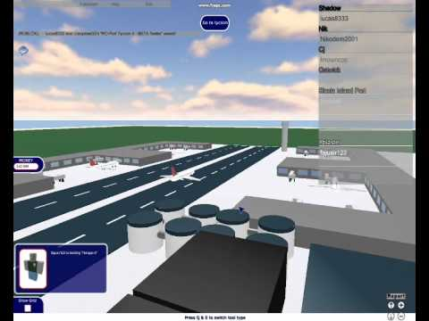 roblox ro port tycoon how to fly