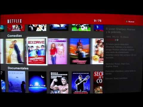 Netflix en México desde Playstation 3