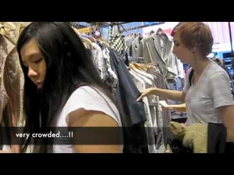 Episode 20 Shopping Top Shop NYC