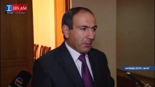 Nikol Pashinyanin merjecin - 22.09.2014
