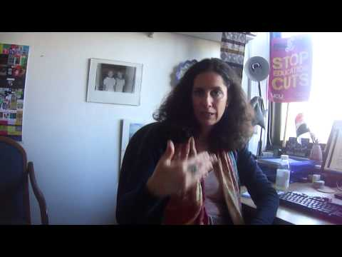 Nadje Al-Ali feminist activist talks against war on Iran