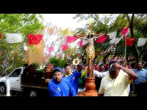 Peregrinación del Señor de la Piedad a la Buena Huerta en Yurécuaro