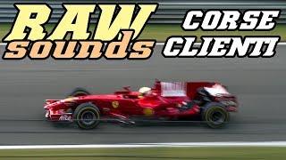 RAW sounds - Ferrari Corse Clienti F1 (Spa 2017)