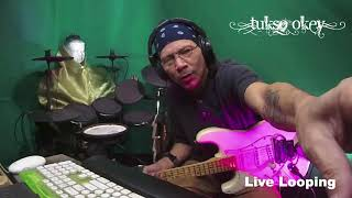 Tukso Okey live performing on FB 2017-12-31