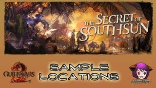 Secret of Southsun – Sample Locations
