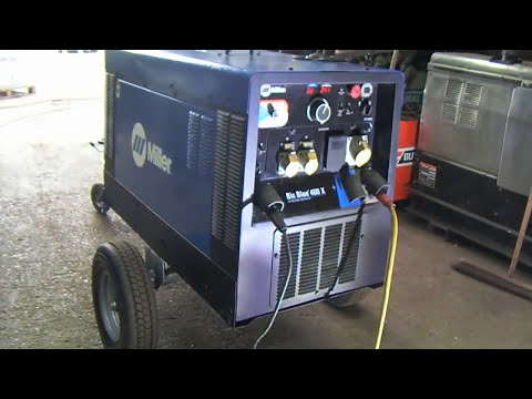 Miller Big Blue 400 X Diesel Welding Generator For Sale at Westermans International