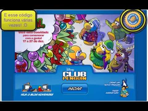 Club Penguin - Código de 500 moedas