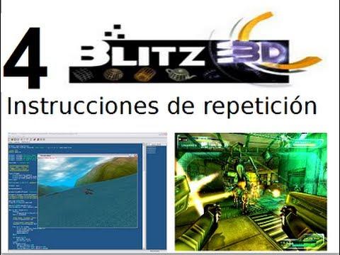Video 4 - Curso Programación de juegos con Blitz 3d - Instrucciones de repetición