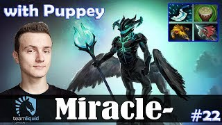 Miracle - Outworld Devourer Safelane | with Puppey (Chen) | Dota 2 Pro MMR Gameplay #22
