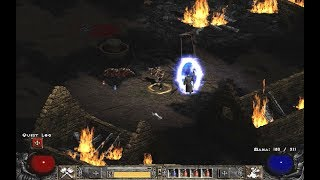 Diablo II: Tristram, Deckard Cain, 05 (Hell difficulty, Barbarian 69 lvl) Blizzard Entertainment