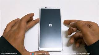 FORGOT PASSWORD - How to Unlock and Hard Reset Xiaomi Redmi 5 and Redmi 5 Plus