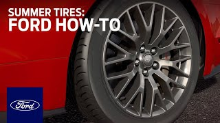 Summer Tires | Ford How-to | Ford