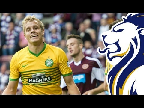 Pukki and Stokes both score as Celts win at Tynecastle | Hearts 1-3 Celtic, 14/09/2013