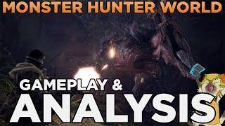 Monster Hunter World English Gameplay Reaction Amp Analysis