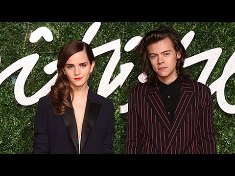 Harry Styles Presents Emma Watson British Fashion Award