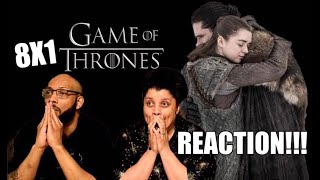 "Game of Thrones S8 E1 ""Winterfell"" - REACTION!!!"