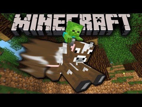 Minecraft 1.7: Amplified Survival Story Zombaby Zoo