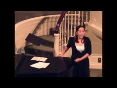 Arianne Abela Sings Somewhere Over The Rainbow