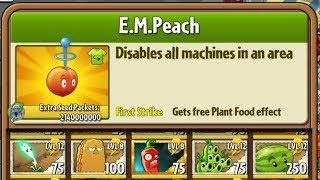 Boosted E.M. Peach - Hack - Plants vs. Zombies 2