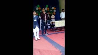 Marvellous Speech by principal sir on Independence day 2016