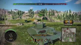 World of Tanks PS4 Epic blind shot
