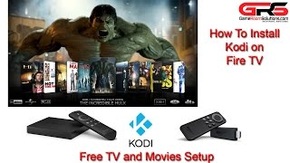 Install and Configure Kodi XBMC on Amazon FireTV Stick