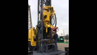 RD20 Drill Rig Demonstration at 2014 PBIOS Show in Odessa, TX
