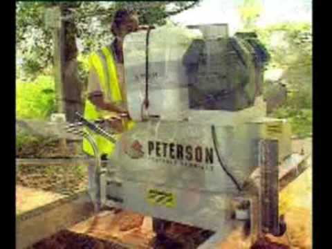 Peterson Portable Sawmills TV Commercial for Remote Milling