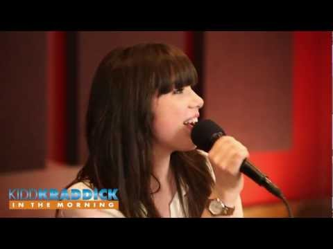 Carly Rae Jepsen - Call Me Maybe - Acoustic version - live on Kidd Kraddick in the Morning
