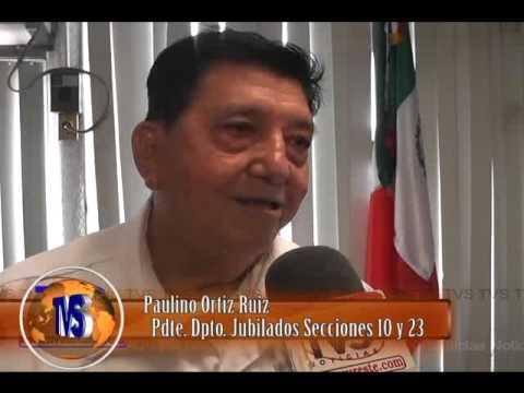 TVS Noticias.- Jubilados de Minatitlan este 15 de Septiembre Festejaran Noche Mexicana
