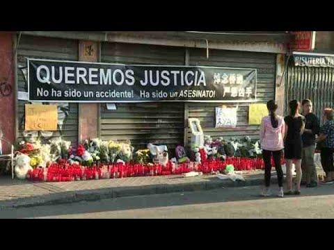 Conmoción entre vecinos de San Fermín por atropello niño chino