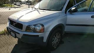 2005 Volvo XC90 for sale. Needs an engine.