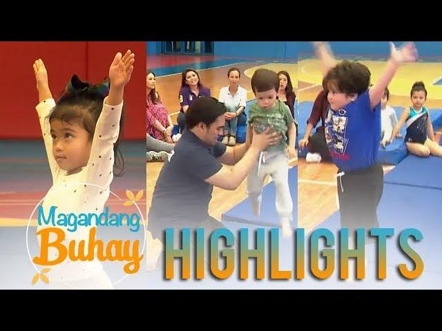 Magandang Buhay: Mela, Jordan and Pele try gymnastics