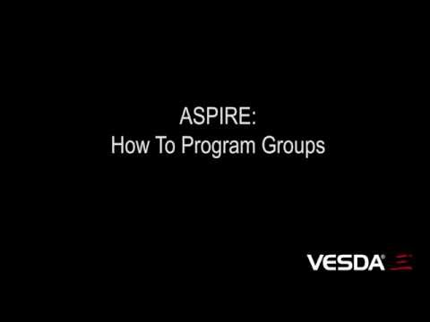 ASPIRE: How To Program Groups