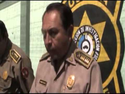 POLICIA CAPTURA ALA BANDA DELINCUENCIAL LOS BRAVOS DE SAN JOAQUIN
