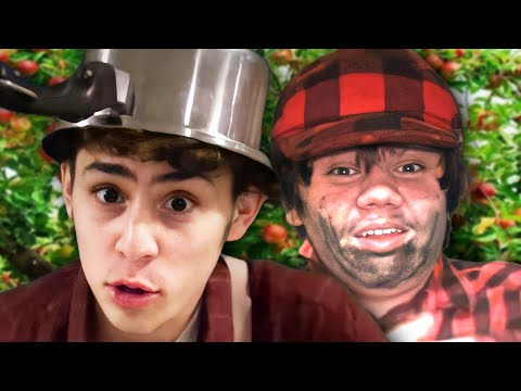 Paul Bunyan vs Johnny Appleseed - Epic Rap Battle Parodies Season 3